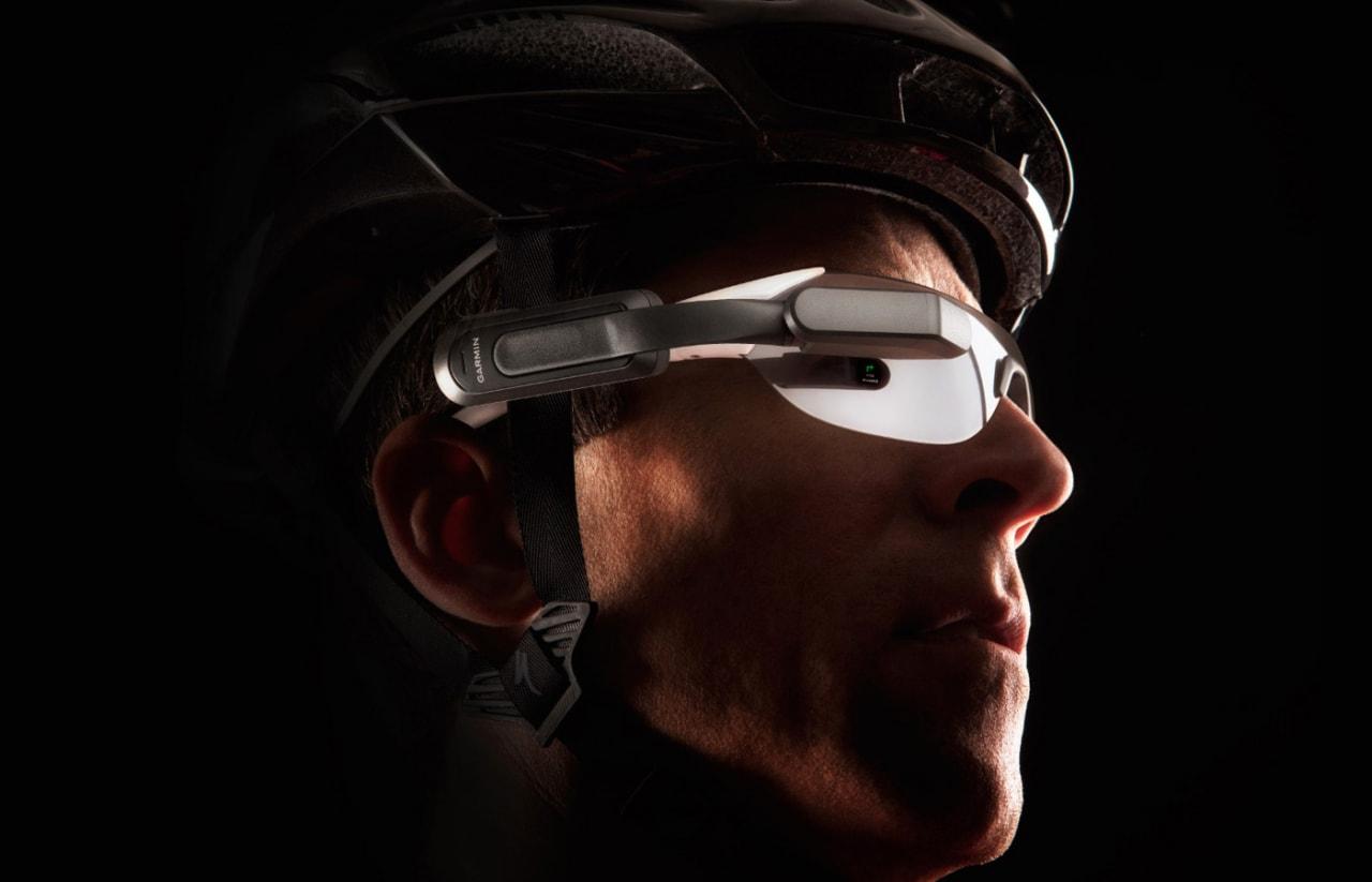 """Garmin: dai """"Google Glass"""" per ciclisti, ai wearable da 800$ in mostra al CES 2016 (foto)"""