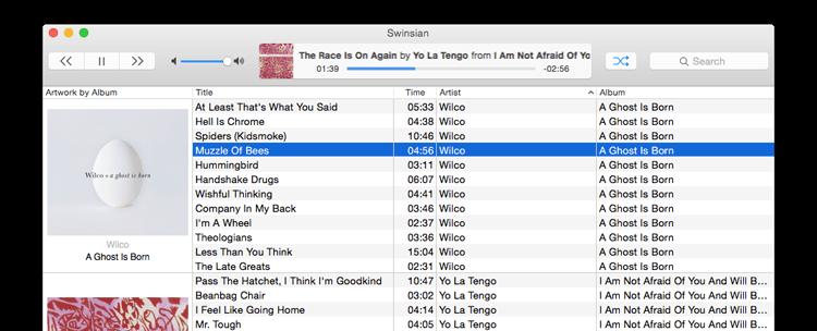 La migliore alternativa ad iTunes per la musica su OS X