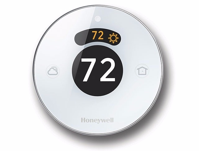 honeywell lyrics round termostato homekit smartthings