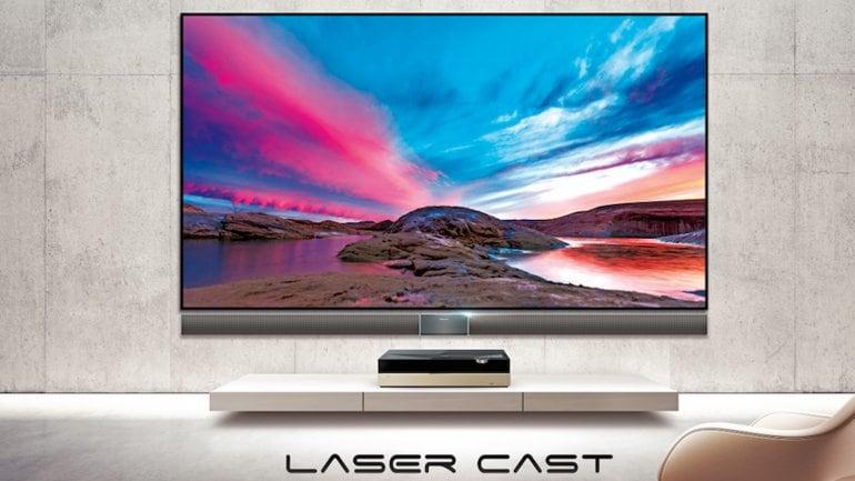 """HiSense usa un proiettore laser per creare una TV da 100 pollici """"economica"""" (video)"""