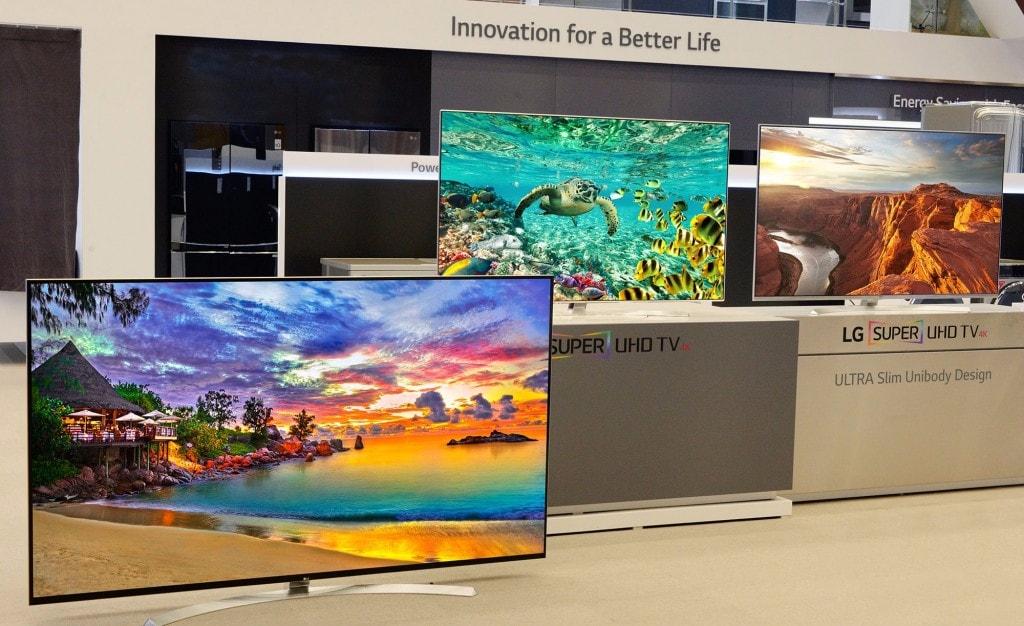 """Tra le nuove TV LG per il 2016 c'è anche una mostruosa 8K da 98"""""""
