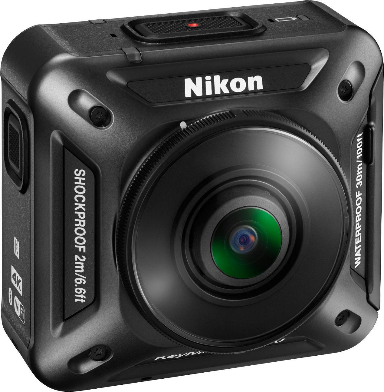 Nikon entra nel mondo delle action cam con un modello a 360° (in tutti i sensi) (foto e video)