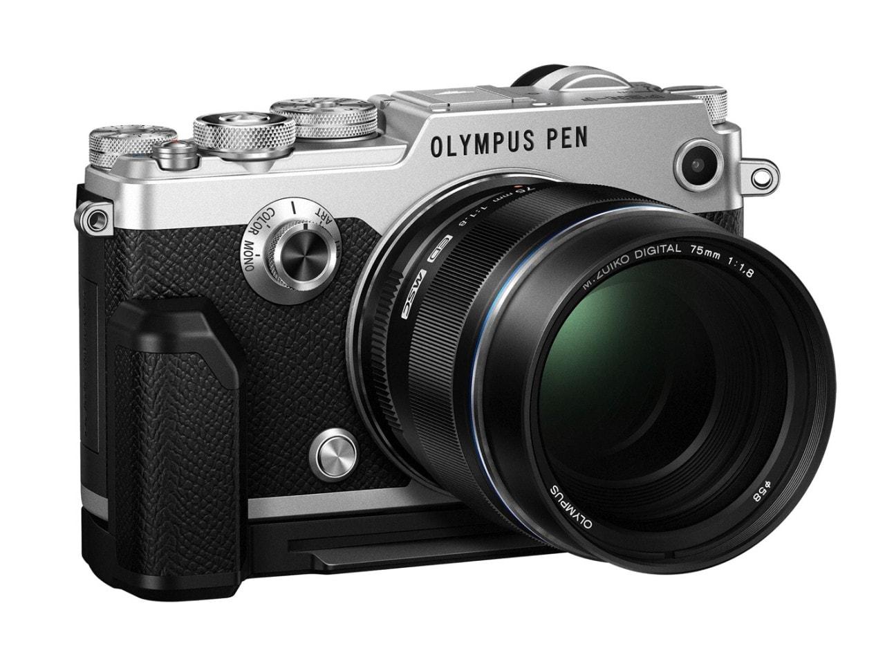 Olympus PEN-F, la fotocamera vintage dal cuore moderno (foto)