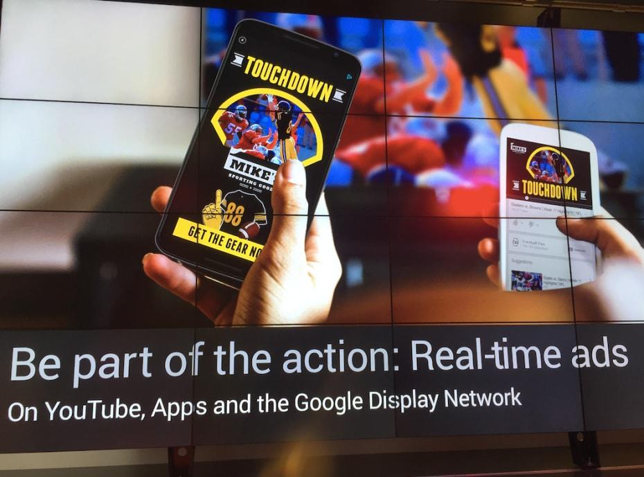 Google potenzia la sua pubblicità su internet con annunci in tempo reale