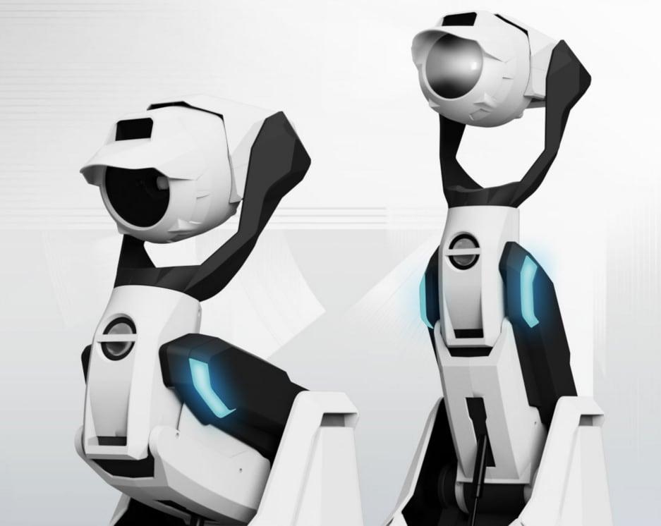 Tipron è un buffo proiettore robot che vi segue (video)