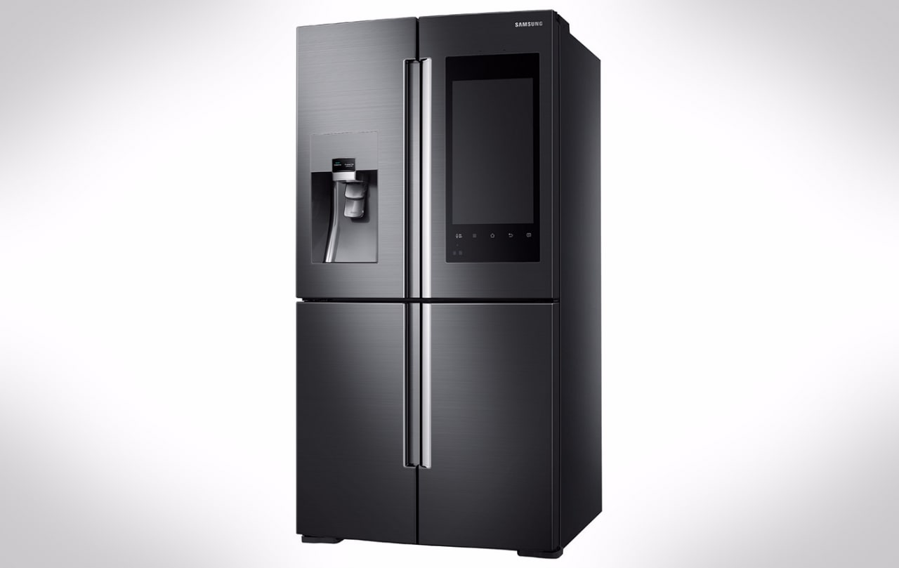 samsung family hub frigo smart