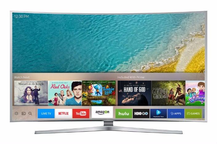 """Smart TV Samsung al CES 2016: nuovo hub """"personalizzabile"""" e un telecomando con Tizen"""