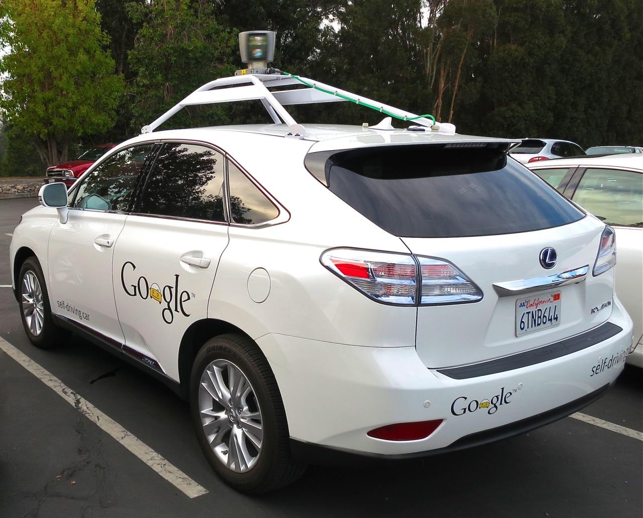 self driving car google final