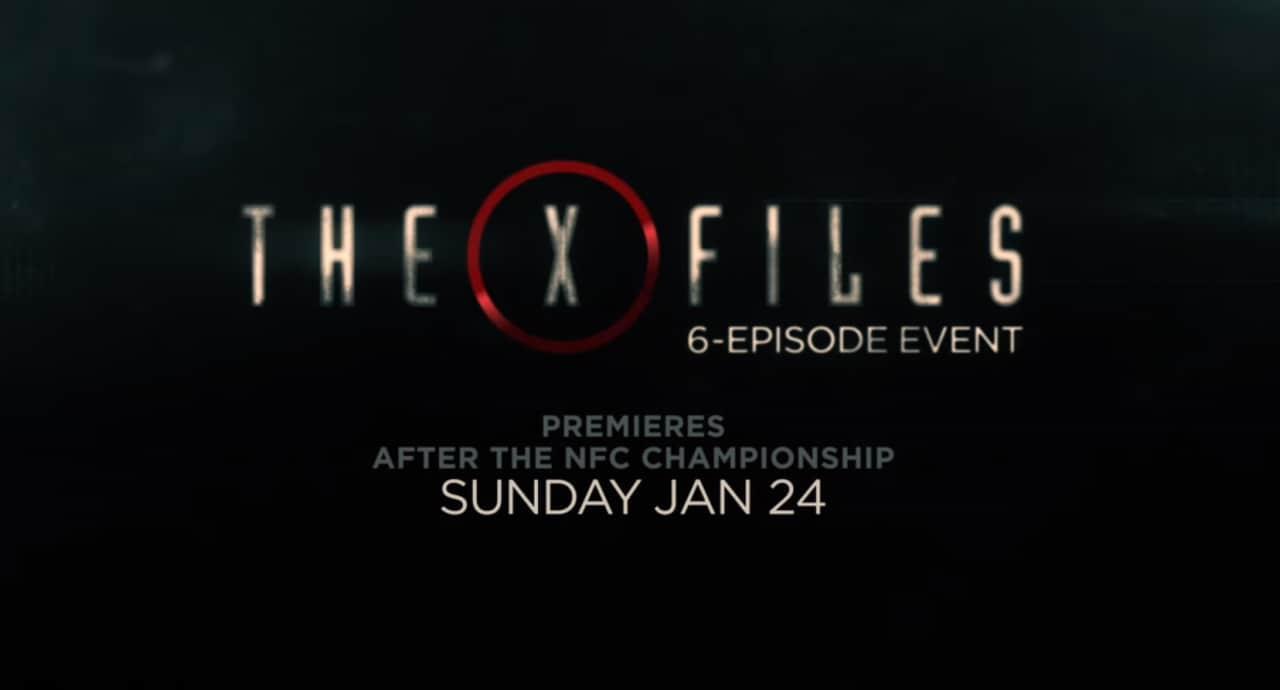 La verità è là fuori, assieme al trailer del nuovo X-Files (video)