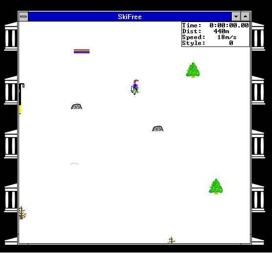 Sfuggite dallo yeti in questo famosissimo gioco sulle nevi!