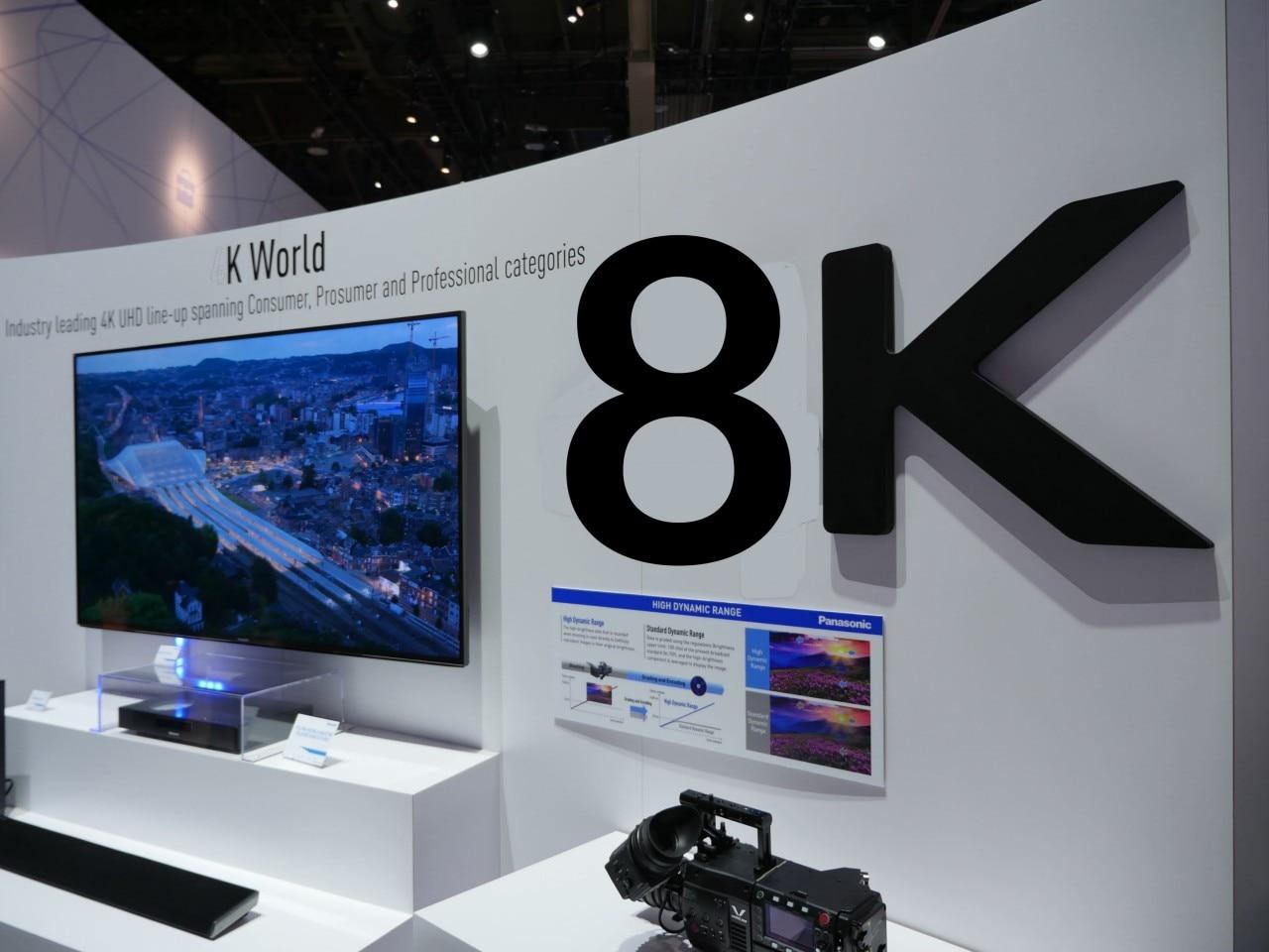 Questa azienda giapponese vuole farvi comprare una TV 8K