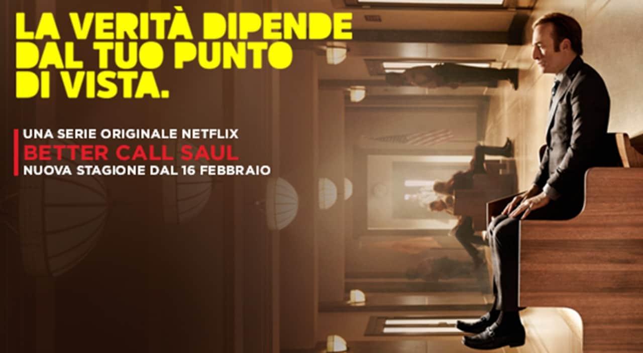 Better Call Saul S02 dal 16 febbraio su Netflix: ecco locandina italiana e teaser (video)