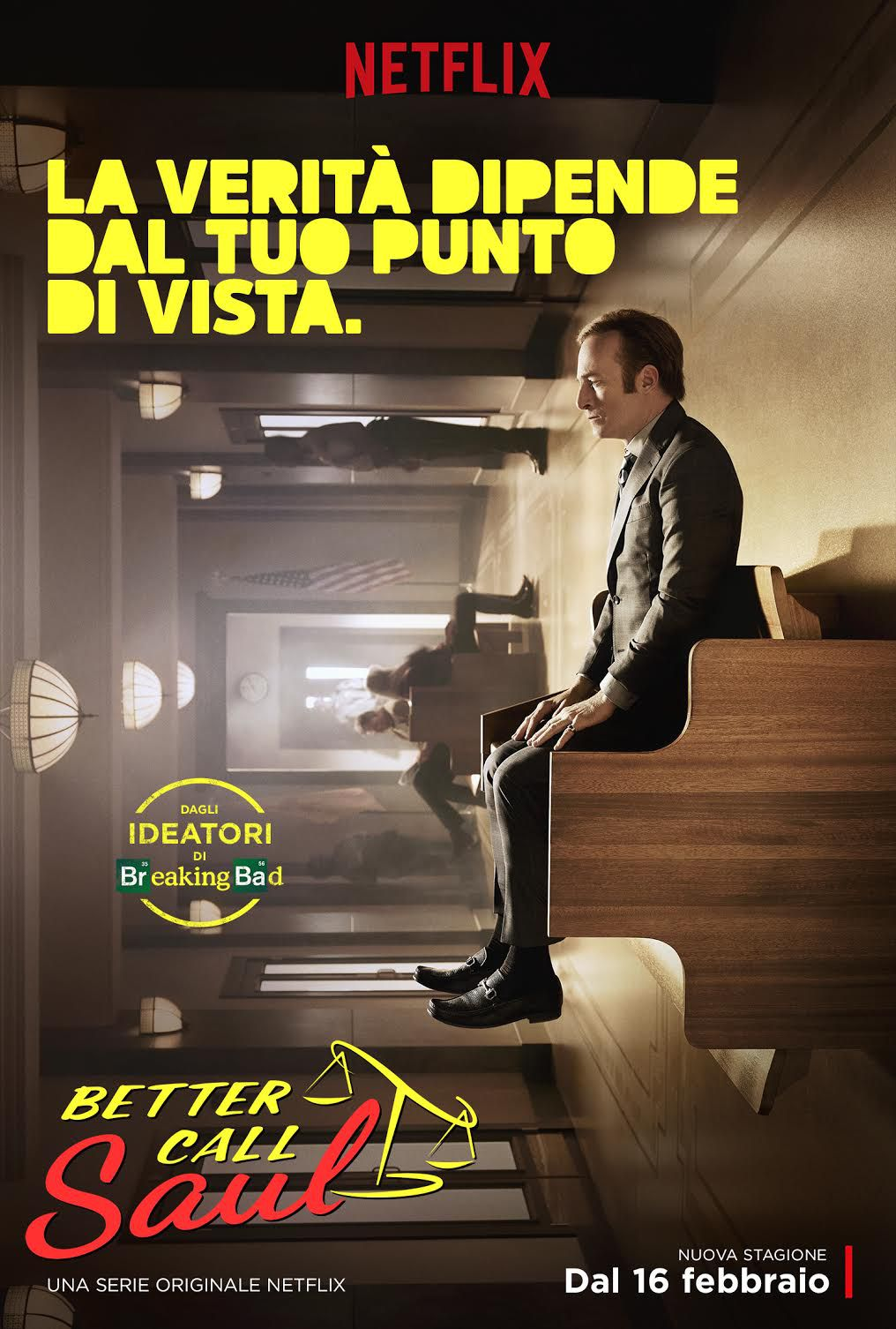 Better Call Saul S02 Italia Locandina