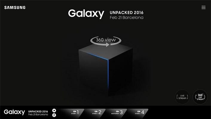 Galaxy Unpacked 2016 360