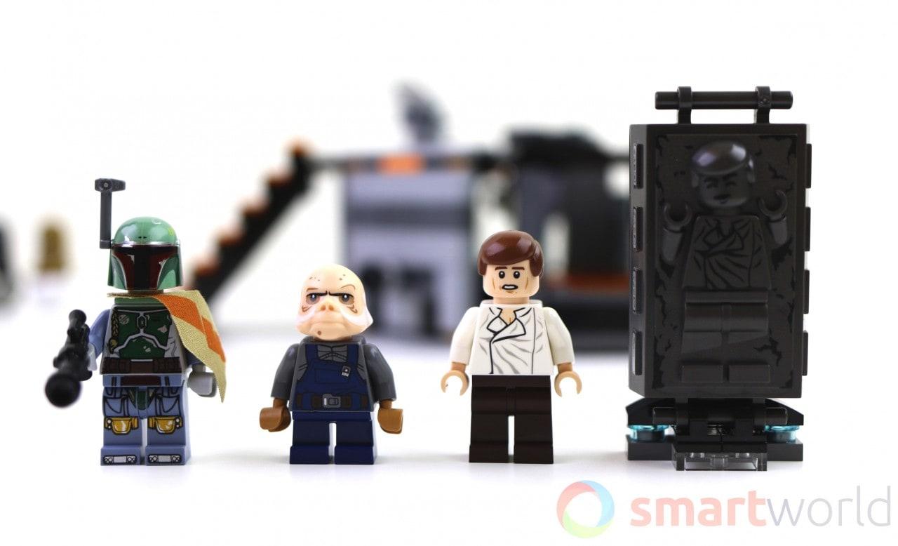 Lego Star Wars Camera di Congelamento al Carbonio - Copertina