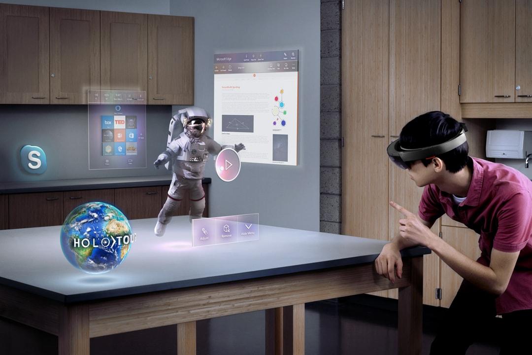 Da realtà aumentata a realtà virtuale? Sì, con questo nuovo brevetto Microsoft