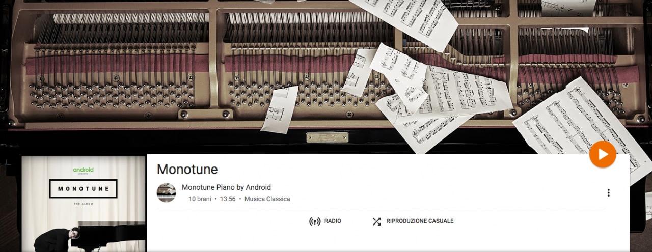 Monotune piano