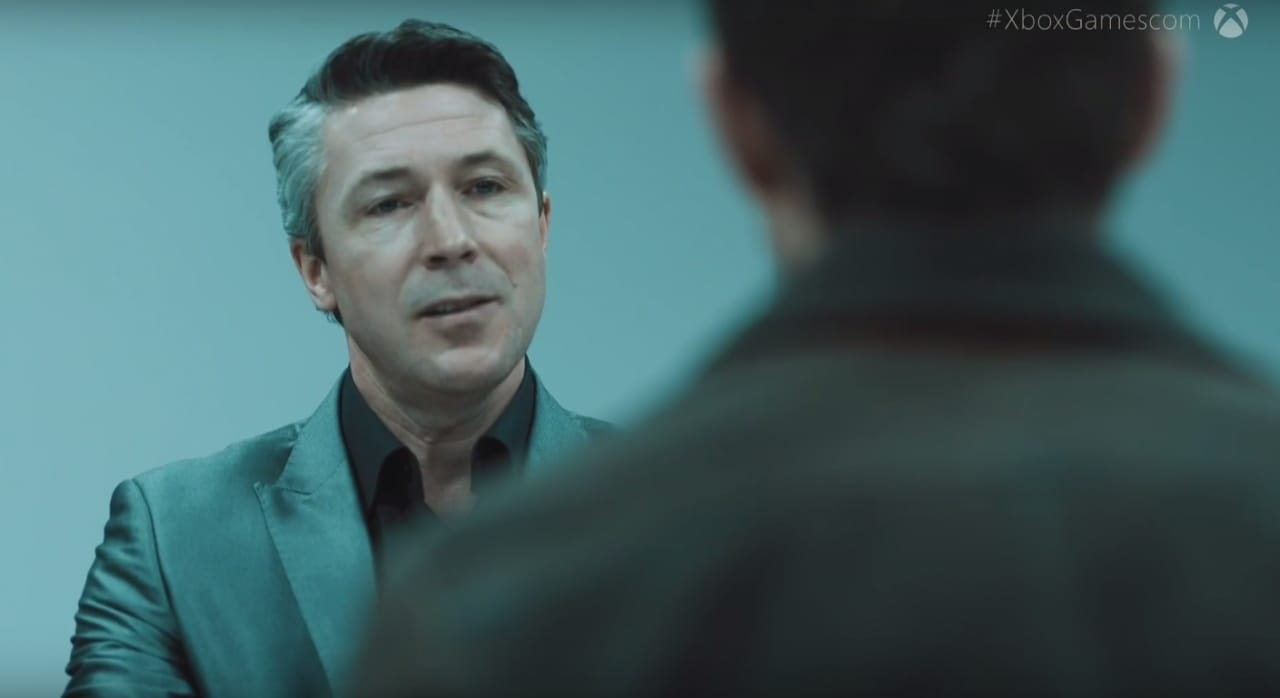 Quantum Break Aidan Gillen