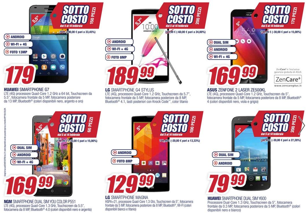 Smartphone offerte volantino for Semeraro offerte volantino
