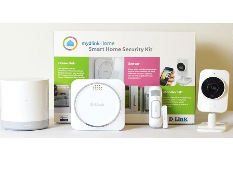 D-Link presenta un kit antifurto per la sicurezza smart di casa