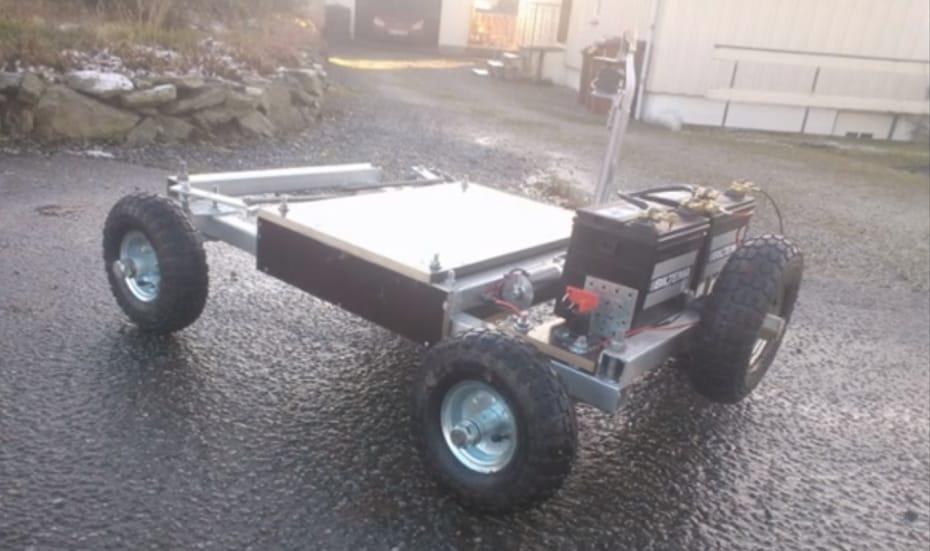 Il drone rover che può andare ovunque grazie alla rete 3G (video)