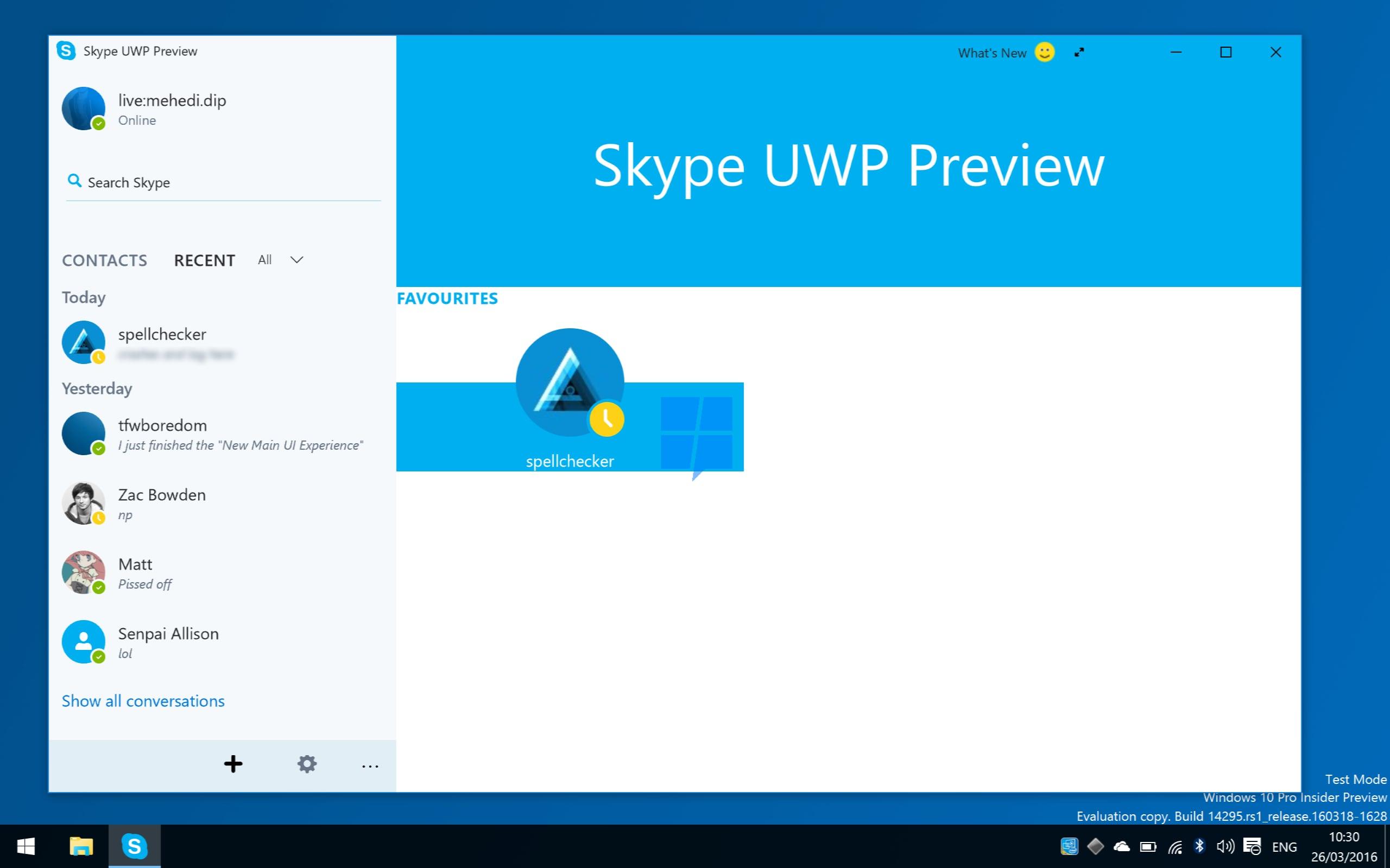 app di appuntamenti per Windows 10 datazione il mio ex migliore amico