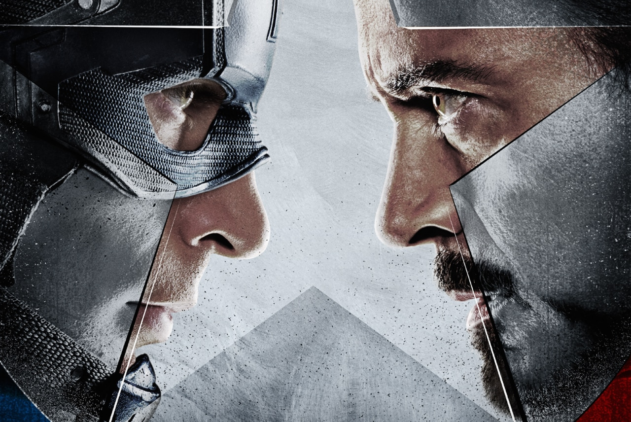 Captain America Civil War Copertina
