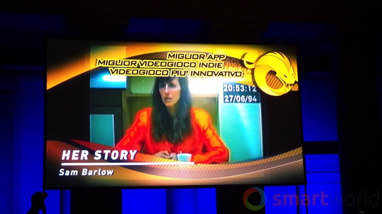 Drago d'Oro - Miglior app, videogioco indie, più innovativo - Her Story