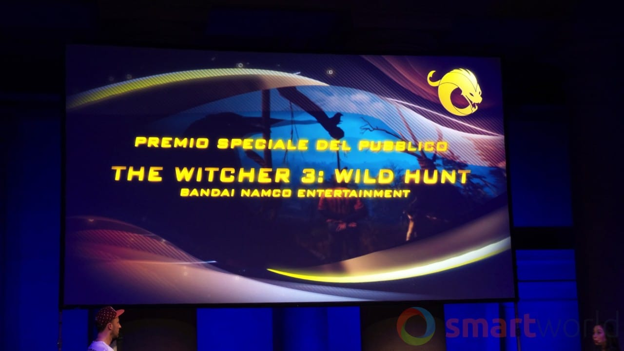 Drago d'Oro - Premio speciale del pubblico The Witcher 3 Wild Hunt