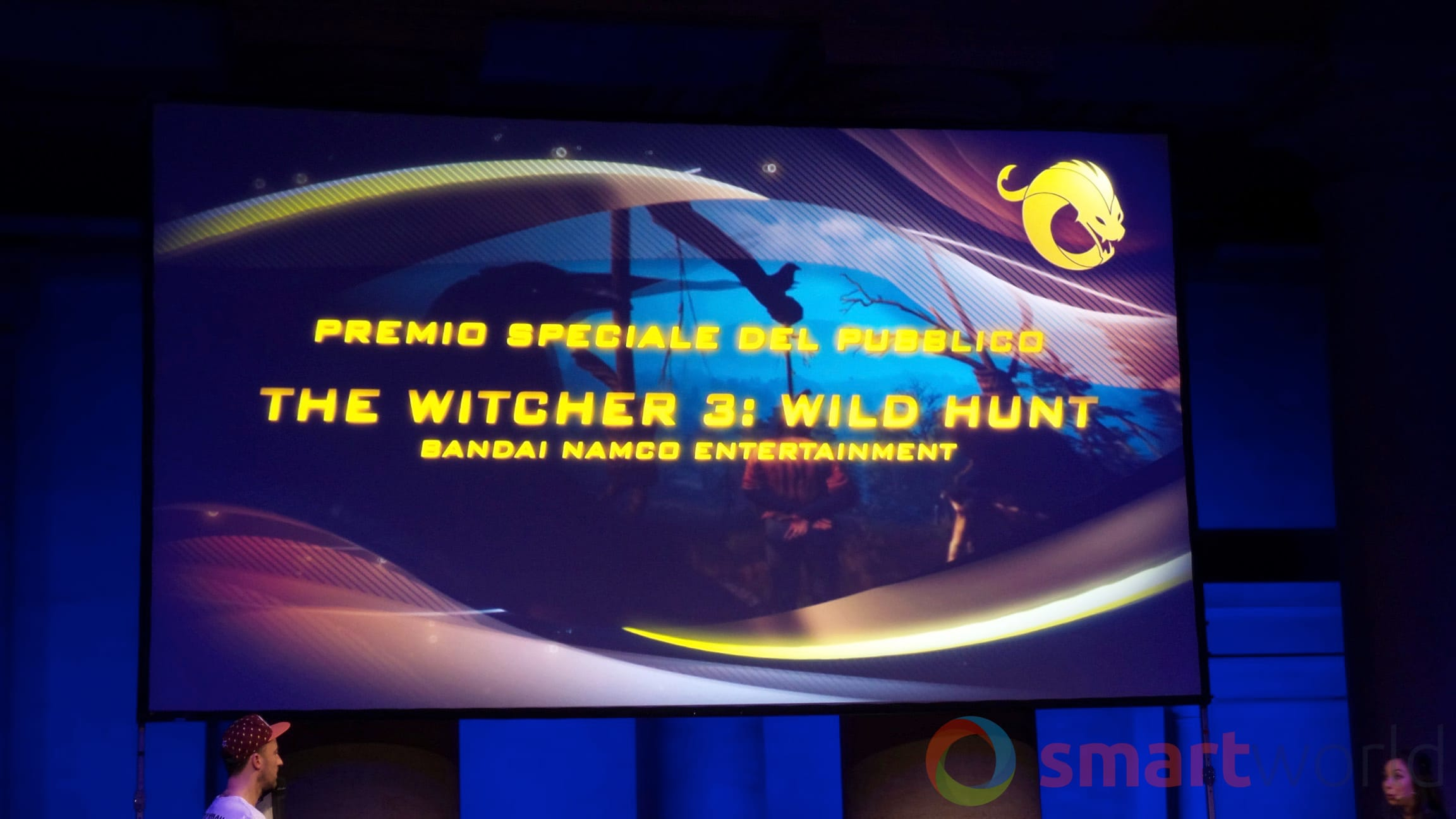 Drago d'Oro – Premio speciale del pubblico The Witcher 3 Wild Hunt