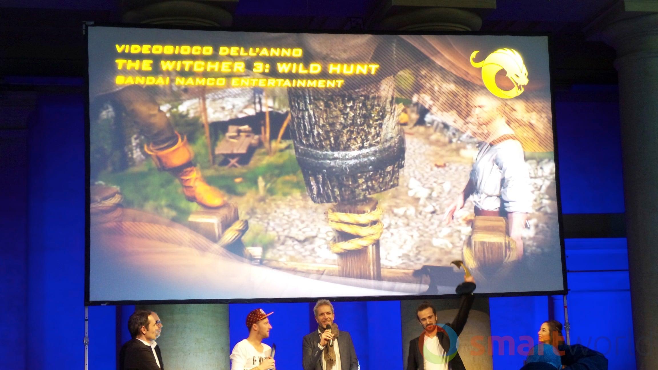 Drago d'Oro – Videogioco dell'anno The Witcher 3 Wild Hunt
