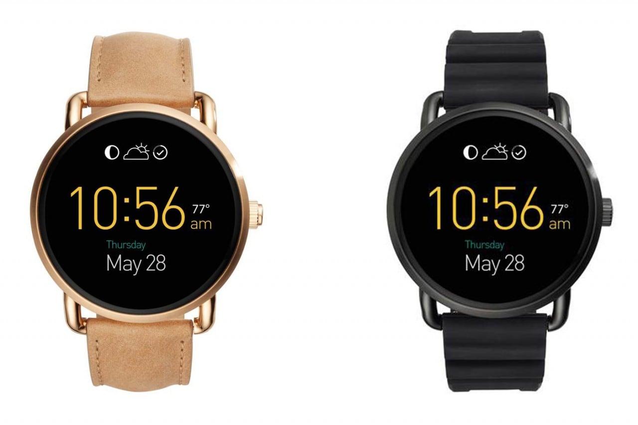 Fossil nuovi smartwatch