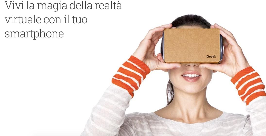 Google Store realtà virtuale