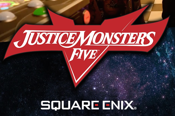 JUSTICE MONSTERS FIVE Copertina