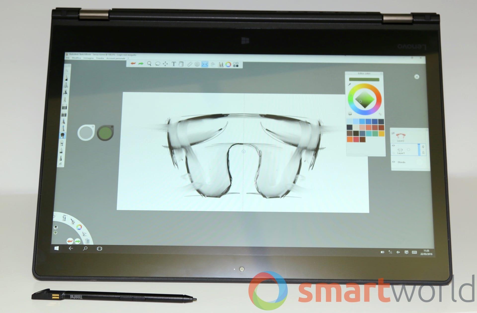 Lenovo ThinkPad P40 Yoga – 1