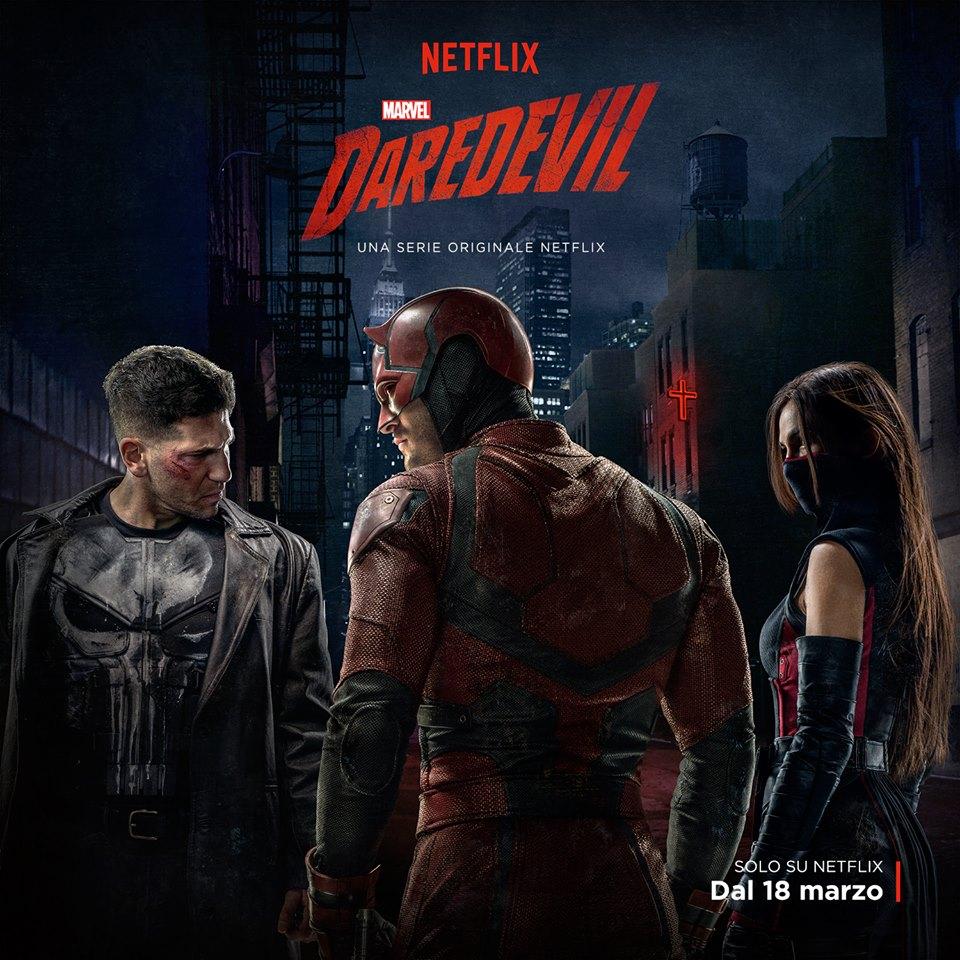 Locandina Netflix Daredevil