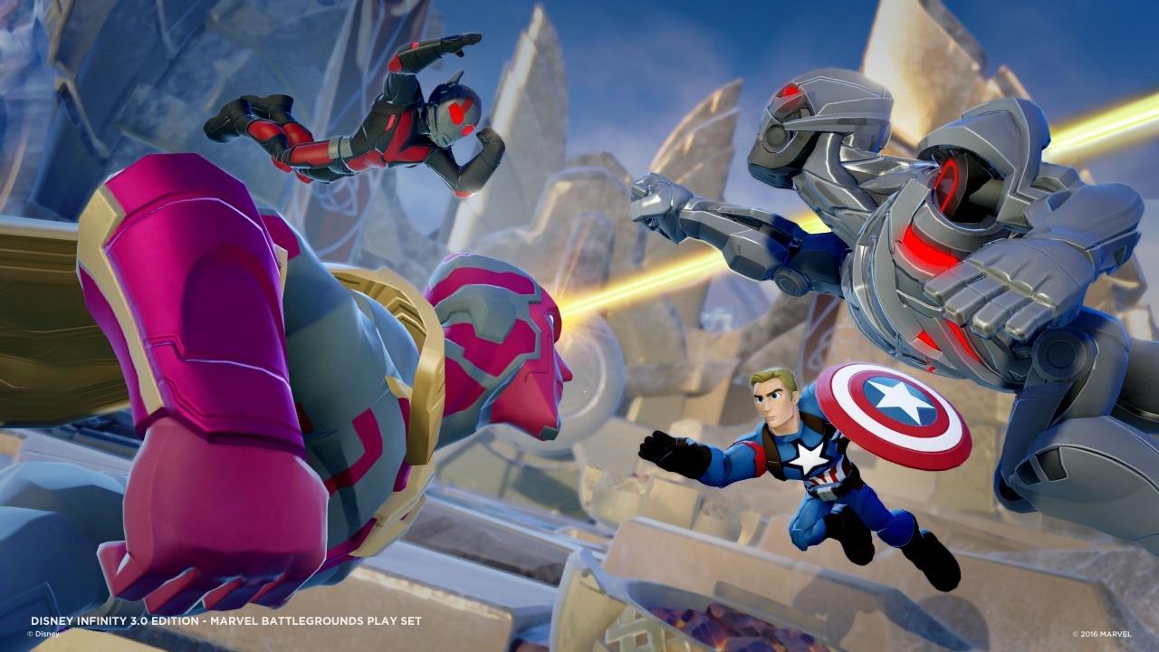 Marvel Battlegrounds New