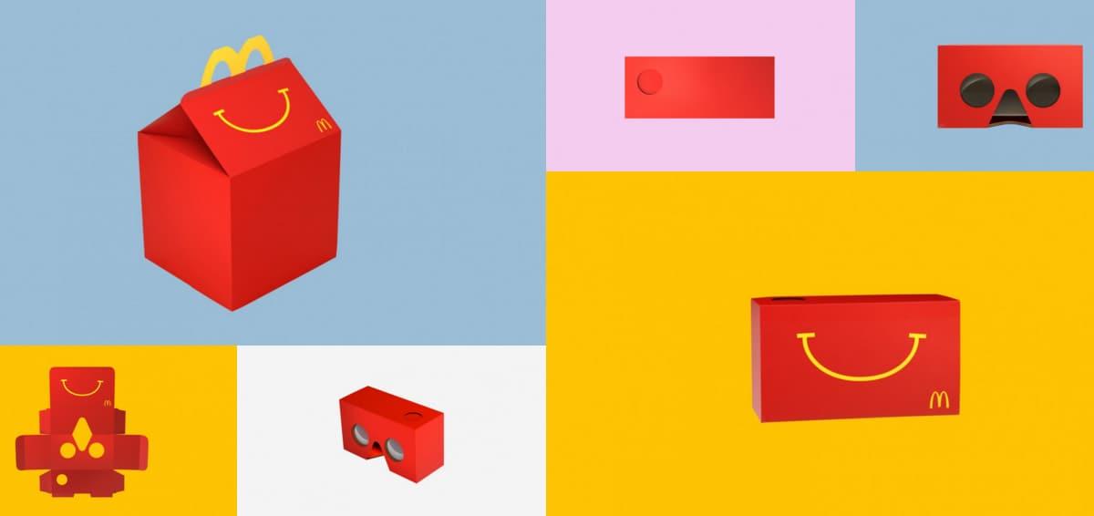 McDonald's google cardboard