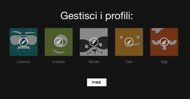 Profili Netflix