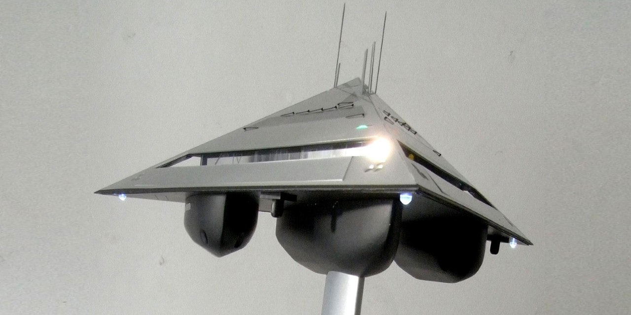 Tetrahedron superyacht - 1