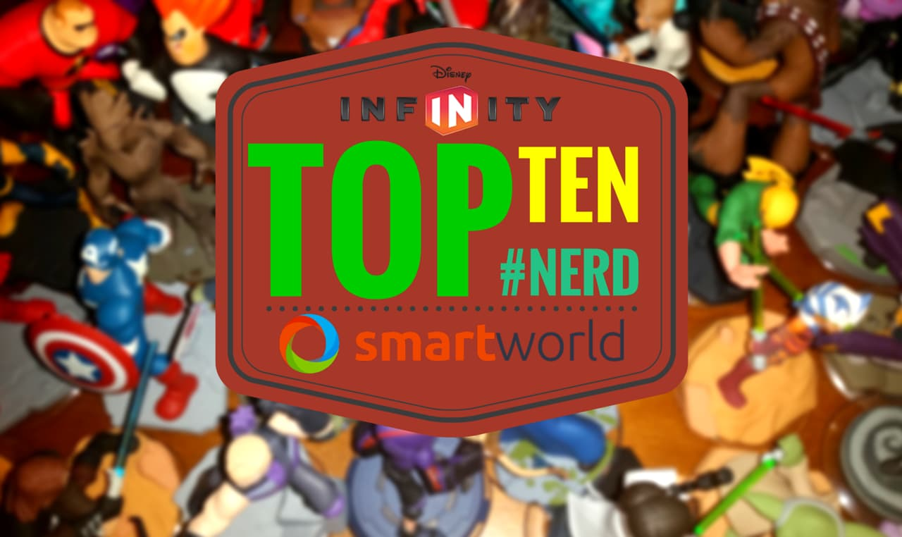 Top Ten Personaggi Disney Infinity