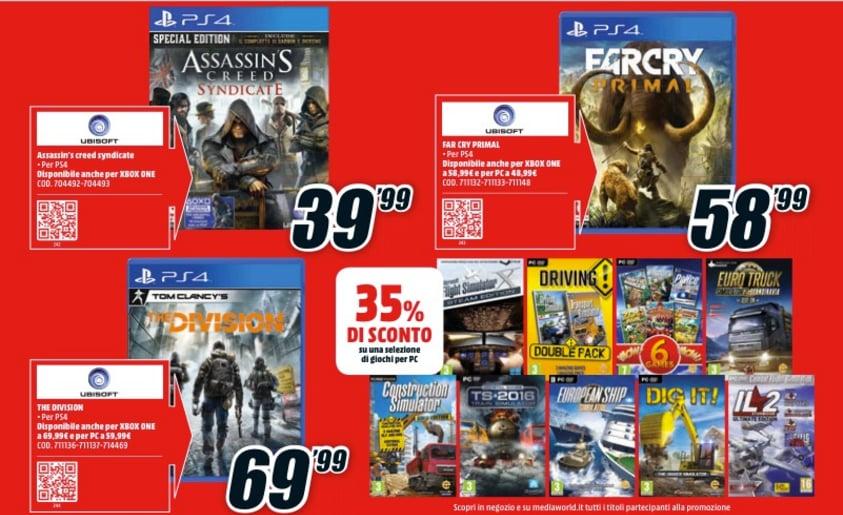 Volantino MediaWorld gaming marzo 2016_4