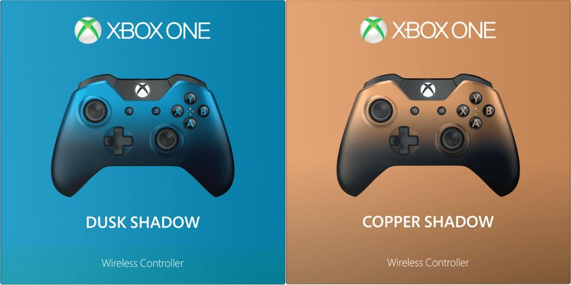 Quanto sono belle queste nuove colorazioni per i controller di Xbox One? (foto)