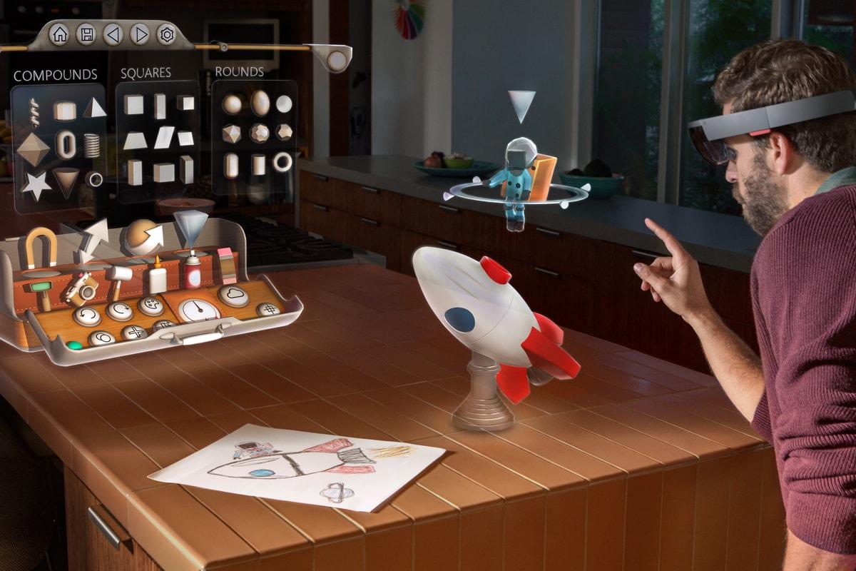 """Microsoft vi fa vedere come usare HoloLens per raccontare """"storie olografiche"""" (video)"""