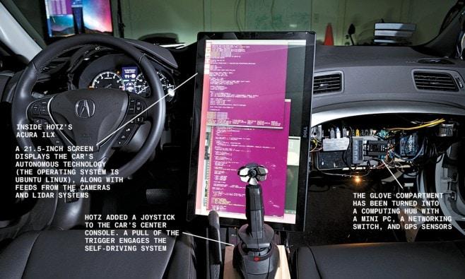auto a guida autonoma self driving geohot