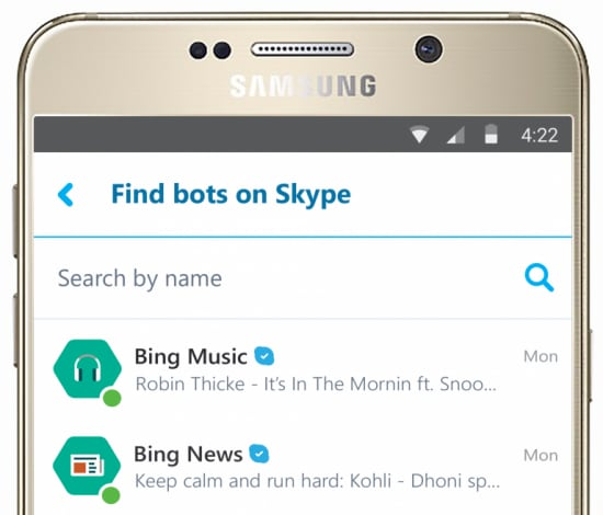 bot skype android