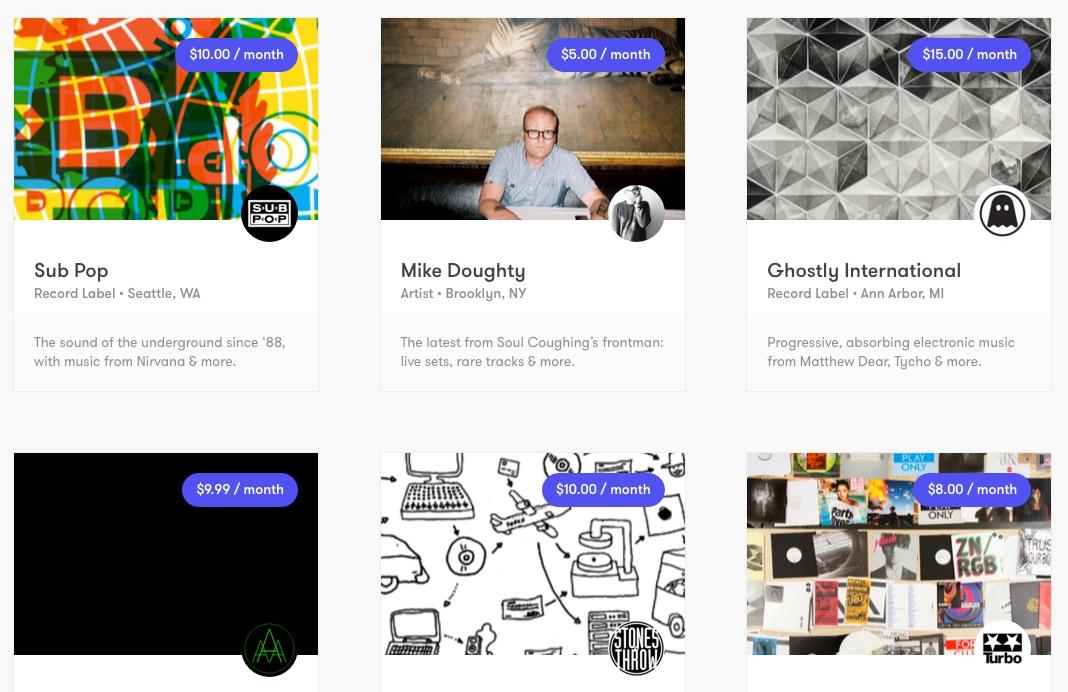 Drip, Il crowdfunding per la musica indie, diventa di Kickstarter