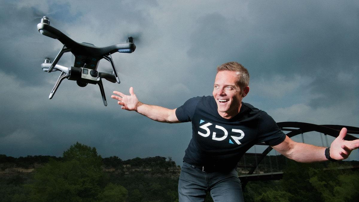 drone sony 3d robotics autodesk