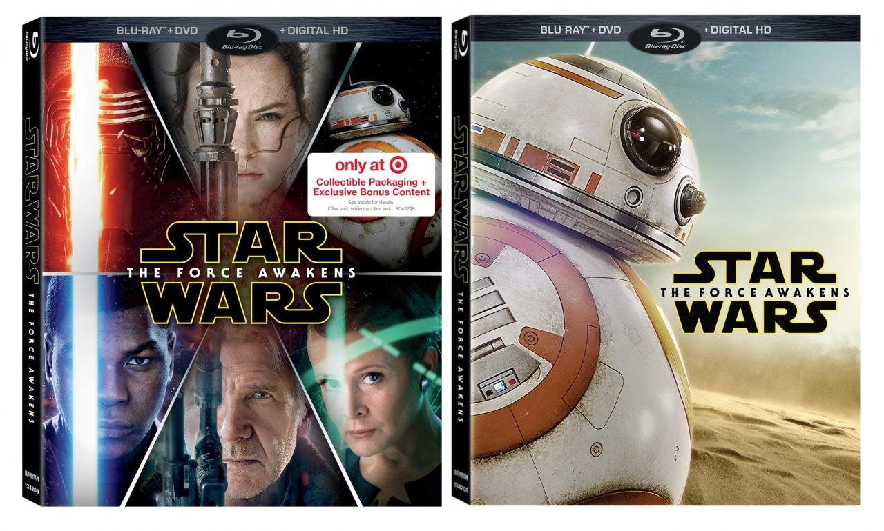 dvd blu ray star wars risveglio della forza