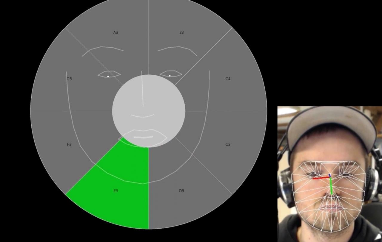 Musica per gli occhi: Eye conductor permetterà di suonare e comporre con lo sguardo (foto)